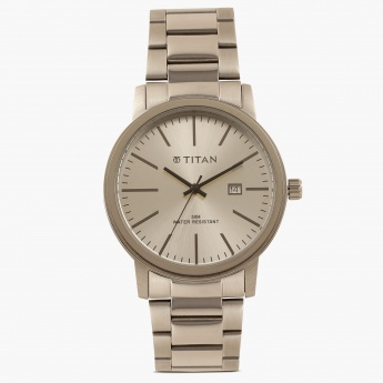 TITAN Steel Collection NE9440SM02J Analog with Date Watch