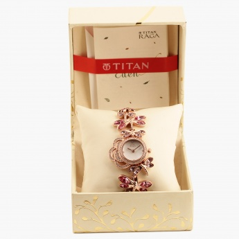 TITAN Raga 95011WM03J Analog Watch