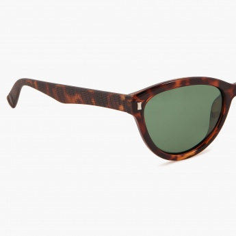 PROVOGUE Animal Print Cat-Eye Sunglasses