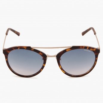 PROVOGUE Animal Print Round Sunglasses