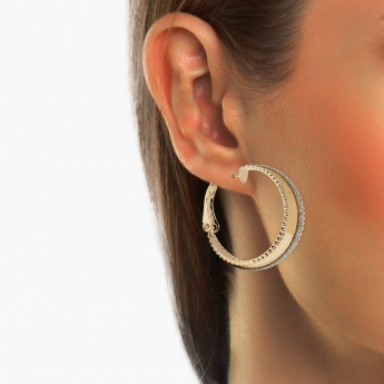 TONIQ Small Arc Gold Earring