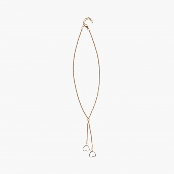 TONIQ Golden Heart Necklace