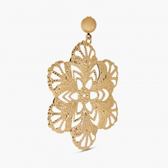 TONIQ Mandala Gold Dangler