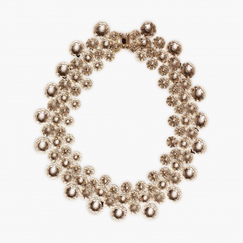 TONIQ Sea Of Black Bubbles Necklace
