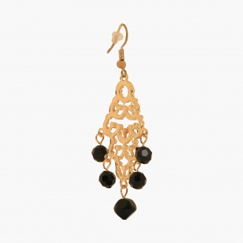 TONIQ Lava Ingot Drop Earrings