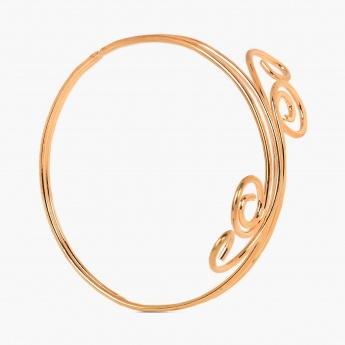 TONIQ Grecian Inspired Gold Armlet
