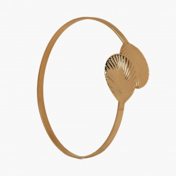 TONIQ Bohemian Double Leaf Gold Armlet