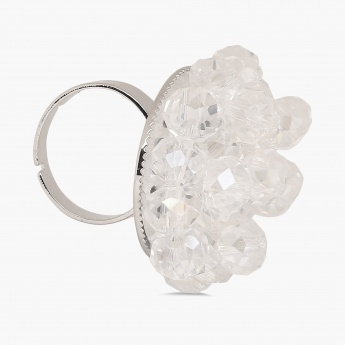 GINGER Crystal Crush Ring