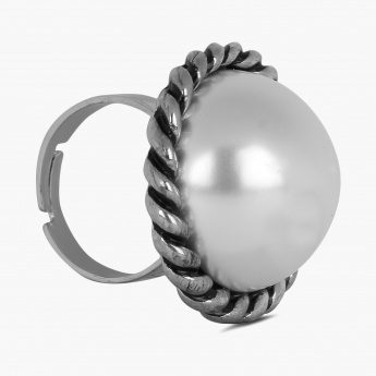 GINGER Pearly Pick Ring