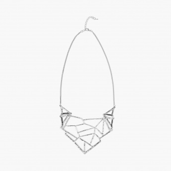 GINGER Geometric Gig Necklace