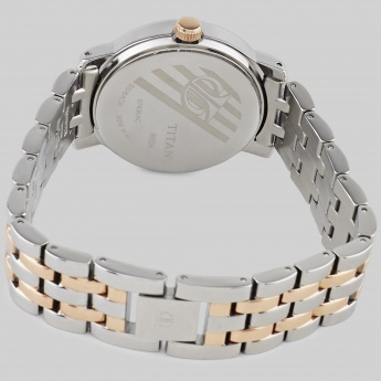 TITAN 9743KM01J Rose Gold Multifunctional Watch