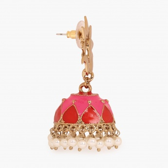 FIDA Meenakari Jhumki Earrings