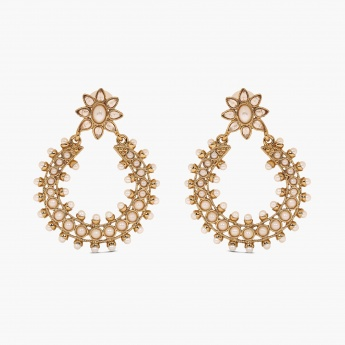 FIDA Floral Drop Earrings