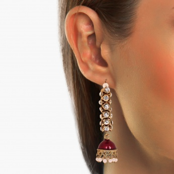 FIDA Kundan Drop Earrings