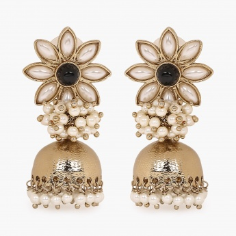 FIDA Floral Jhumki Drop Earrings