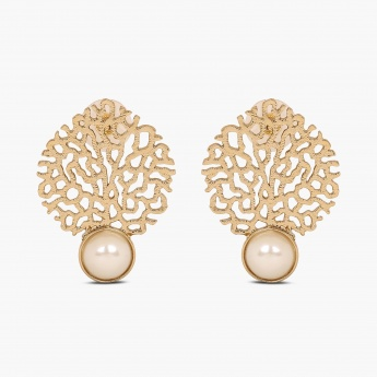 FIDA Filigree Stud Earrings