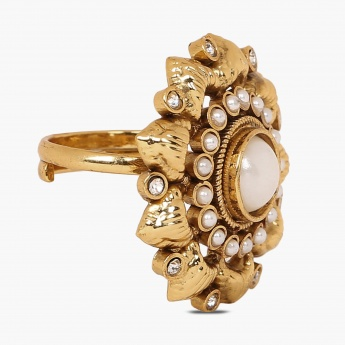 FIDA Floral Statement Ring