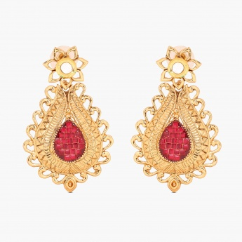 FIDA Gold-Tone Earrings