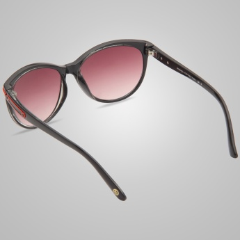 FCUK Polarized Cat Eye Sunglasses
