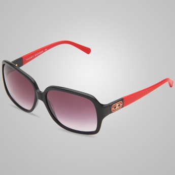 TOMMY HILFIGER Dual Tone Square Sunglasses