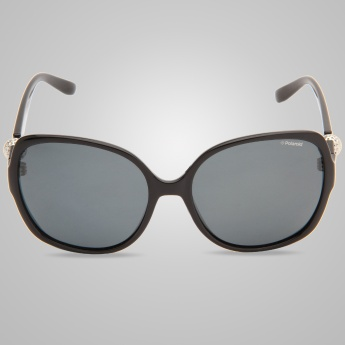 POLAROID Solid Butterfly Sunglasses