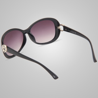 MIAMI BLUES Oversized Butterfly Sunglasses