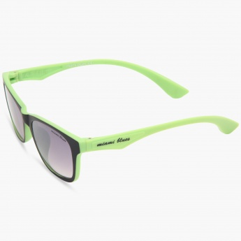 MIAMI BLUES Dual Tone Wayfarer Sunglasses