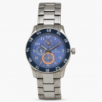 TITAN 1632SM03 Men Multifunction Watch