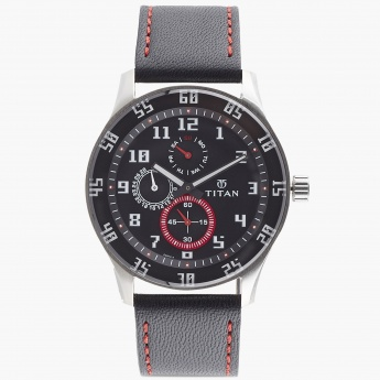 TITAN 1632SL03 Men Multifunction Watch