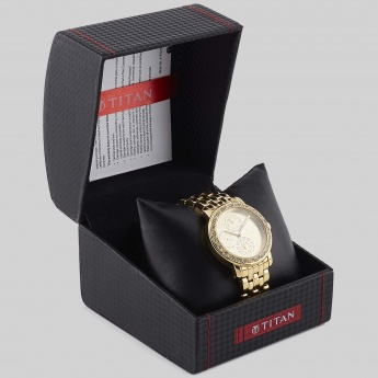 TITAN NF9743YM02J Women Analog With Day & Date Watch
