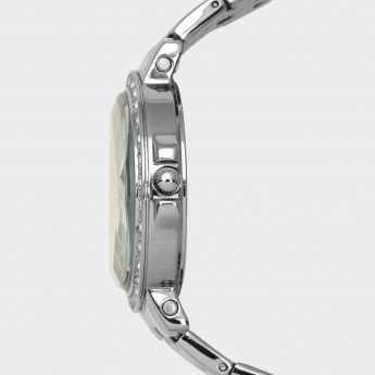 TIMEX J501 Women Crystal Studded Analog Watch