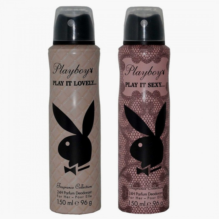 PLAYBOY Women Pack Of 2 Deo - 150 ML Each thumbnail
