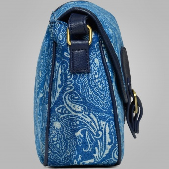 GINGER Canvas Printed Sling Bag