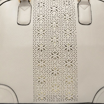 PAPRIKA Laser Cut Shoulder Bag