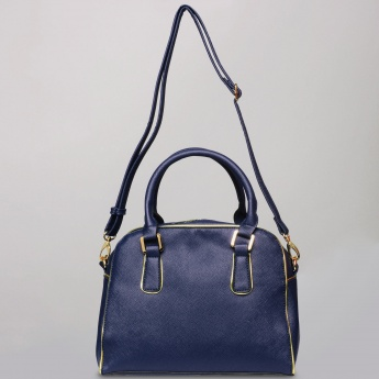 CODE Metal Trim Handbag