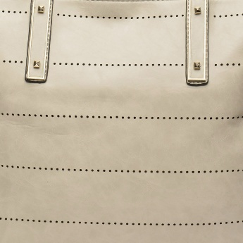 PAPRIKA Dotted Line Tote Bag