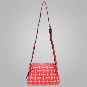 PAPRIKA Weaving Sling Bag