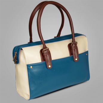 CODE Color Block Handbag