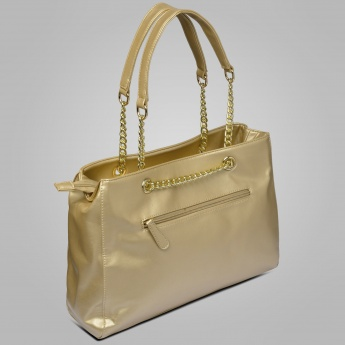 LAVIE Sheen Chain Detailed Handbag