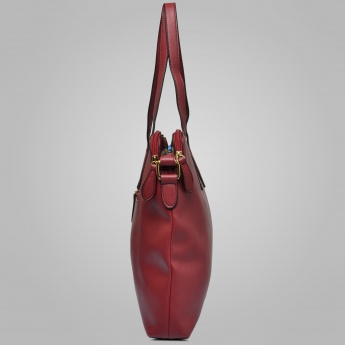 LAVIE Textured Cherry Blossom Tote Bag