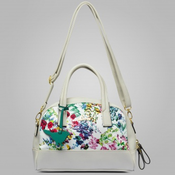 LAVIE Floral Print Handbag