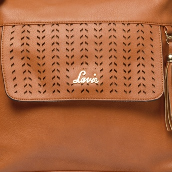 LAVIE Solid Intricate Sling Bag