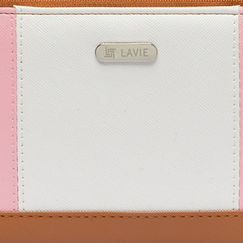 LAVIE Colour Block Button Closure Purse