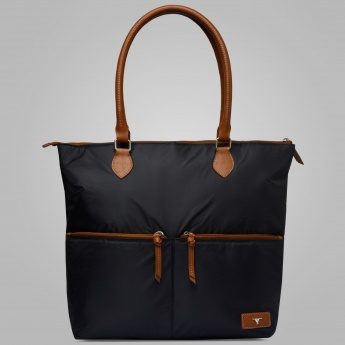 BULCHEE Solid Spacious Tote Bag
