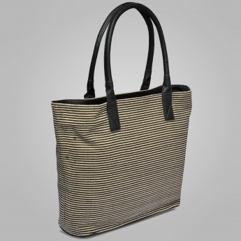 BULCHEE Striped Tote Bag