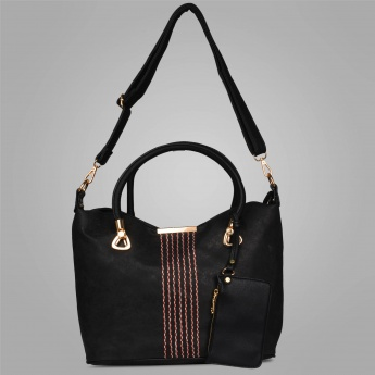 CODE Decorative Stitching Handbag