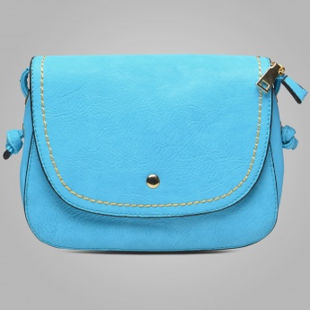 GINGER Solid Sky Hues Sling Bag