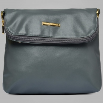 DAVID JONES Dusky Fold-Over Sling Bag