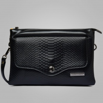 DAVID JONES Textured Classic Sling Bag