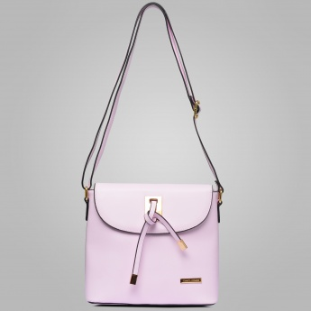 DAVID JONES Blush Tie-Up Handbag